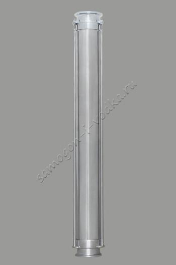 """Дополнительная металлическая колба для стеклянной царги, базовый модуль L500 ХД-2"""""""