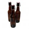 Бутылка с бугельной пробкой коричневое стекло, 500 мл