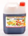 Натуральный концентрированный грушевый  сок  5 кг