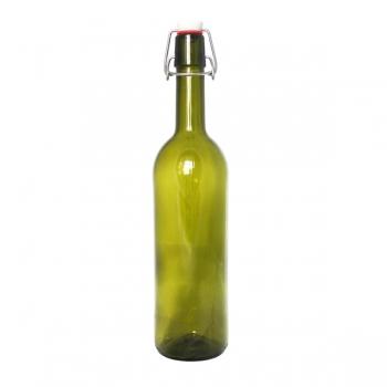 Бутыль винная 750 мл. с бугельной крышкой (12 шт)