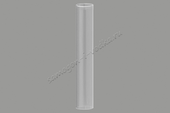"""Дополнительная стеклянная колба для стеклянной царги, базовый модуль L500 ХД-2"""""""