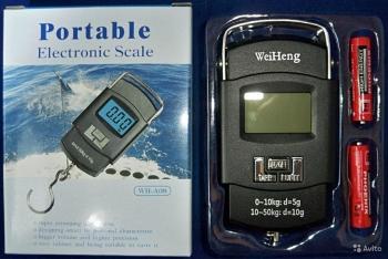 Весы ручные  электронные WH-A08