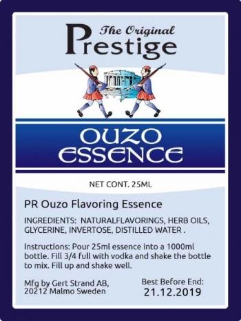 Ouzo Flavoring Essence PR 20 ml