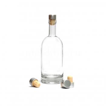 Бутылка Виски Премиум, 0,7 л (под пробку камю 19,5 мм)(без пробки), толстое дно