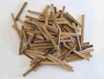 Дубовые палочки (необожженные), 50 гр